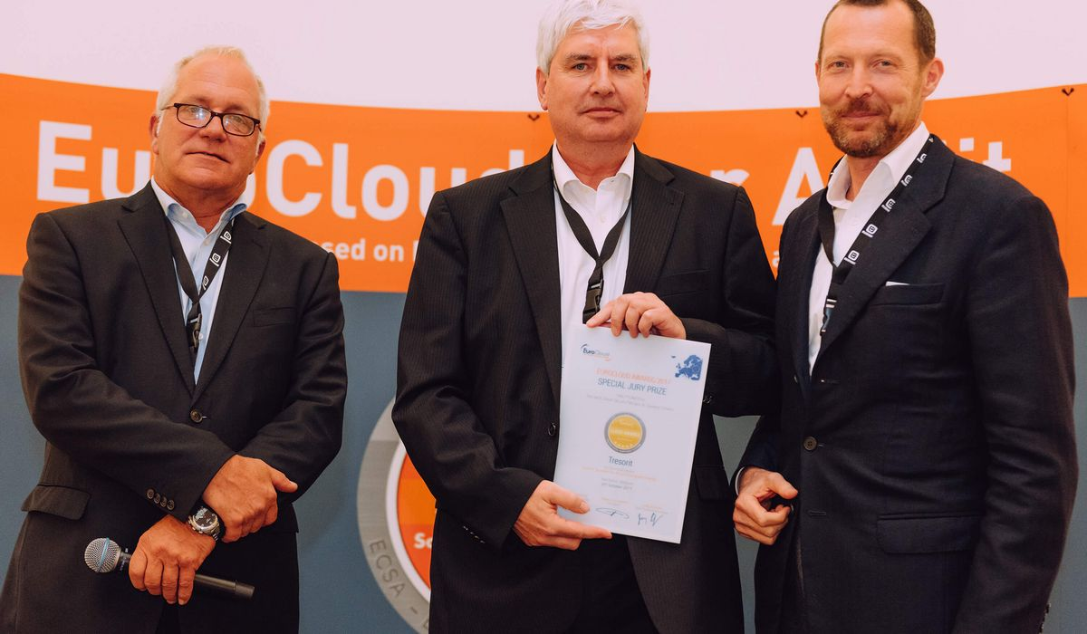 Tresorit, Winner in the EuroCloud Awards 2017 Competition